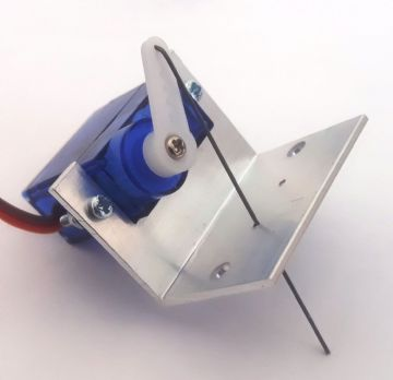 RKbracket1 Precision Engineered Servo Mounting Bracket